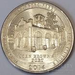 США ¼ долара, 2016 Національний історичний парк Харперс Феррі
