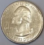 США ¼ долара, 2016 Національний історичний парк Харперс Феррі фото 2