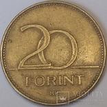 Угорщина 20 форинтів, 1994 фото 1