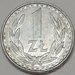 Польща 1 злотий, 1985