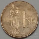 Словаччина 1 крона, 1993