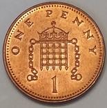 Велика Британія 1 пенні, 2003 фото 2