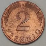 Німеччина 2 пфеніга, 1994