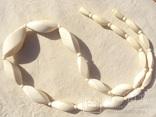Бусы резная слоновая кость, старая Европа., фото №2