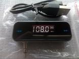 FM трансмитер 3.5 мм. с возможностью изменения частоты передачи от 87.5 - 108 мГц., фото №2