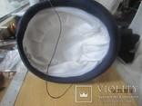 Дамская шляпка таблетка с перьями Англия ручная работа, фото №7