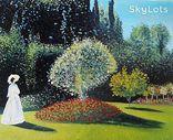 """Копия картины Клода Монэ """"Женщина в саду"""" 50*60см. холст масло, фото №2"""