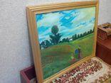 Копия. Картина Клода Моне ''Поле маков у Аржантёя''.(Холст масло 50*40), фото №4
