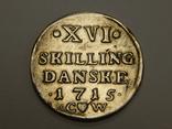 16 скиллингов, Дания, 1715 г