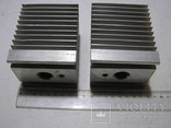 Радиаторы для мощных тиристоров и диодов. 2 штуки., фото №3