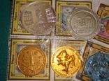 Памятные монеты жетоны одесской юморины, фото №6