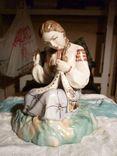 Вышивальщица старый Киев клеймо периода 1954-1959 годов, фото №2