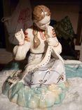 Вышивальщица старый Киев клеймо периода 1954-1959 годов, фото №7