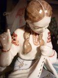Вышивальщица старый Киев клеймо периода 1954-1959 годов, фото №8