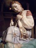 Вышивальщица старый Киев клеймо периода 1954-1959 годов, фото №9