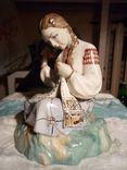 Вышивальщица старый Киев клеймо периода 1954-1959 годов, фото №10