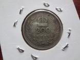 200 рейс 1909 Португалия серебро Холдер 94, фото №4
