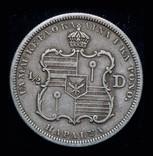 Гавайи 1/2 доллара 1883 серебро фото 2