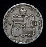 Гавайи 1/2 доллара 1883 серебро фото 3