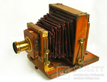 Фотоаппарат деревянный,конец 1800-х г.г.,Англия., фото №3