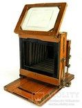 Фотоаппарат деревянный,конец 1800-х г.г.,Англия., фото №4