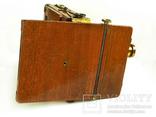 Фотоаппарат деревянный,конец 1800-х г.г.,Англия., фото №5