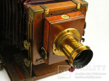 Фотоаппарат деревянный,конец 1800-х г.г.,Англия., фото №6
