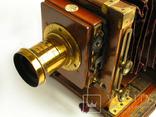 Фотоаппарат деревянный,конец 1800-х г.г.,Англия., фото №8