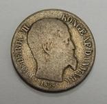 5 центов, 1859 г Датская Вестиндия photo 2