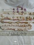 Лот № 2, Бусы из натуральных ракушек., фото №3