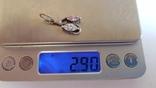 Подвес серебро 925 проба. Вес 2.90 г., фото №7