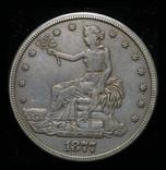 США торговый доллар 1877 S
