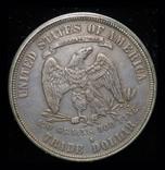 США торговый доллар 1877 S фото 4