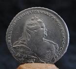 Рубль Анна Иоановна 1737г, фото №2