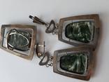 Набор серебро перламутр, фото №6