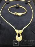 """Бриллиантовое колье и браслет """"Jaylan Juwelier"""" 585 пробы золота, фото №3"""
