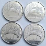 10 грн 2018 р. 100 років Укрфлоту (4 монети)
