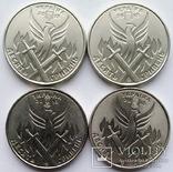 10 грн 2018 р. Доброволець (4 монети з ролів)