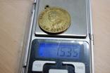 Медаль Сталин. Копия. С гладкой обратной стороной - можно нанести надпись, фото №6