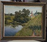 """Картина ,, Суздаль, река Каменка """"худ. Пентюх, фото №5"""