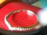 Кольцо из белого золота с сапфирами и бриллиантами photo 7
