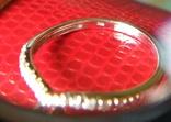 Кольцо из белого золота с сапфирами и бриллиантами photo 8