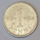 Фінляндія 1 пенні, 1970