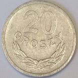 Польща 20 грошей, 1970
