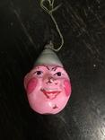 Ёлочная игрушка Клоун, фото №2