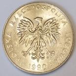 Польща 20 злотих, 1990 фото 2