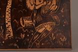Картина резьба по дереву. 42 х 33,5 см. фото 3