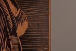 Картина резьба по дереву. 42 х 33,5 см. фото 8