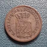 1 крейцер 1864 Баден  серебро   (Z.4.1)~, фото №4