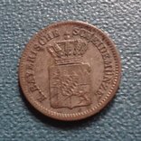 1 крейцер 1864 Баден  серебро   (Z.4.1)~, фото №5